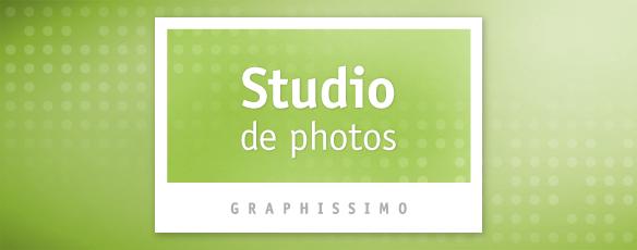 Graphissimo a son studio de photos