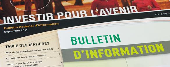 Diffuser votre information avec le bulletin corporatif